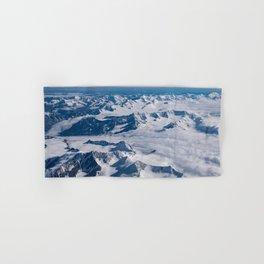 Aerial Glacier Four - Alaska Hand & Bath Towel