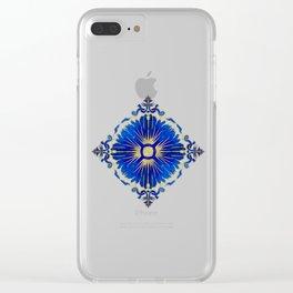 Azulejos - Portuguese Tiles Clear iPhone Case
