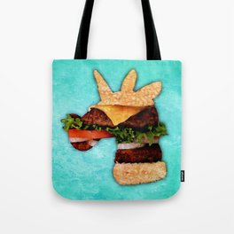 Unicorn Burger Tote Bag