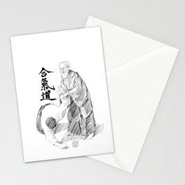 Morihei Ueshiba Stationery Cards
