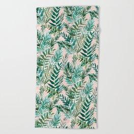 LUSH BLUSH Sunset Palms Beach Towel