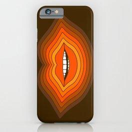 Pop Lips - Golden iPhone Case