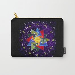 Astrological Circle Carry-All Pouch