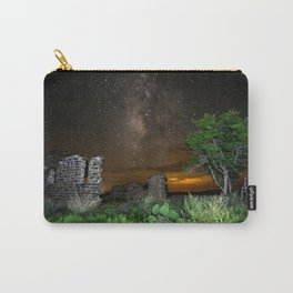 Milky Way over Texas Carry-All Pouch