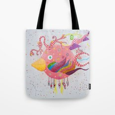 the bird-world Tote Bag