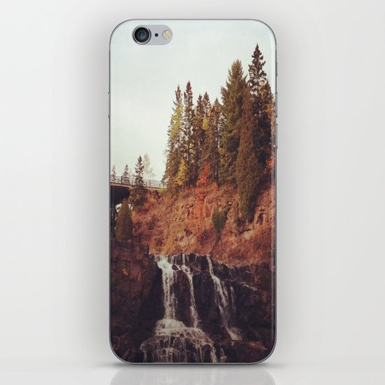 Gooseberry Falls iPhone & iPod Skin