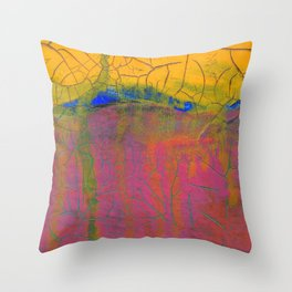 Mostly Pink Throw Pillow