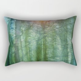 forest morning dream Rectangular Pillow