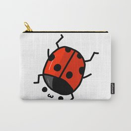 Ladybug Bby | Veronica Nagorny Carry-All Pouch