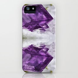 Amethyst Energy iPhone Case