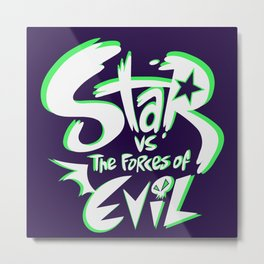 star vs the forces of evil Metal Print