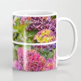 Hydrangeas Montage Coffee Mug