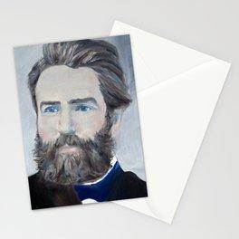 HERMAN MELVILLE - oil portrait Stationery Cards