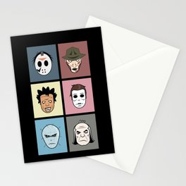 Monster Heads Stationery Cards