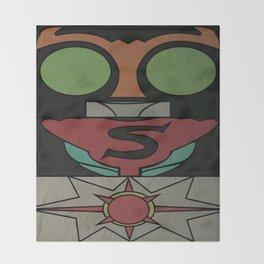 Kamen Rider Strong Throw Blanket