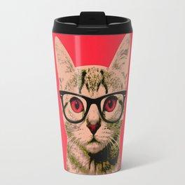 Warhol Cat 4 Travel Mug