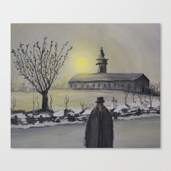 Track 6: Dark winter Canvas Print