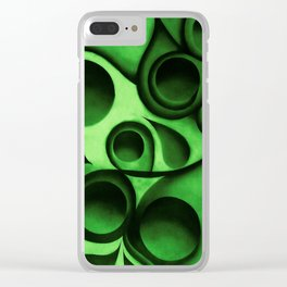 The Green Beech Bauls Clear iPhone Case