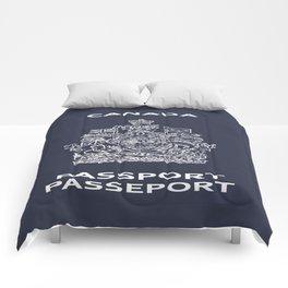 Canadian Passport Comforters
