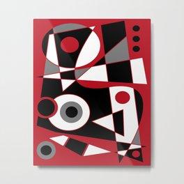 Abstract #505 Metal Print