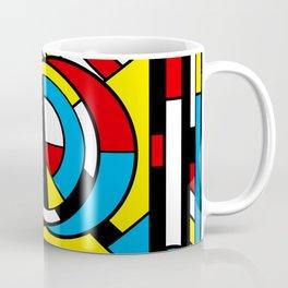 Neoplastimajig - Abstract Geometric Art Coffee Mug