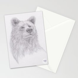 Thoughtful Bear Stationery Cards