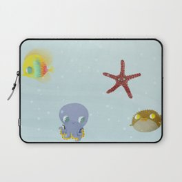Bajo del mar Laptop Sleeve