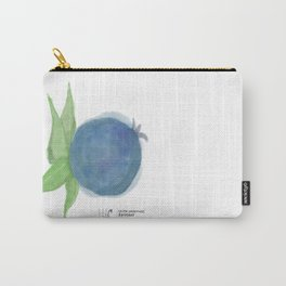 I've Got the Blues • Rustic Blueberry Carry-All Pouch