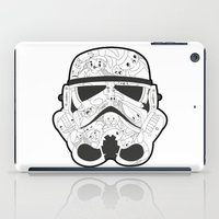 stormtrooper iPad Cases featuring Stormtrooper by Santos