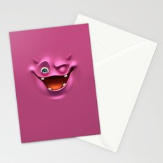 Winking face Stationery Cards