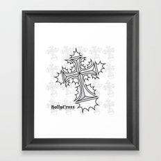 Hollycross Logo Framed Art Print