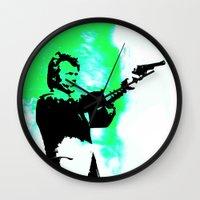 clint barton Wall Clocks featuring Clint by Fimbis