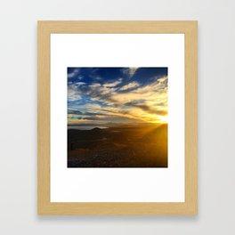Utah Lake Framed Art Print