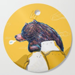 I bear you  Cutting Board