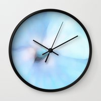 meditation Wall Clocks featuring Meditation by Paul Kimble