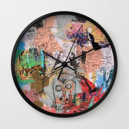 One Hundred Percent Wall Clock