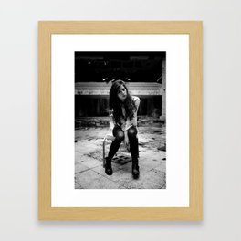 Dan2 (B&W) Framed Art Print