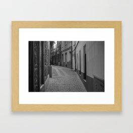 Old Street Framed Art Print