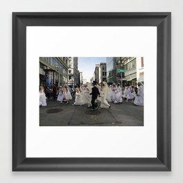 the Brides of March, San Francisco Framed Art Print