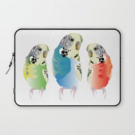The three budgies Laptop Sleeve