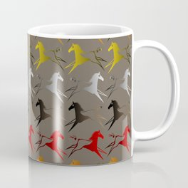 Native American War Horse Coffee Mug
