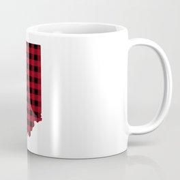 Indiana - Buffalo Plaid Coffee Mug