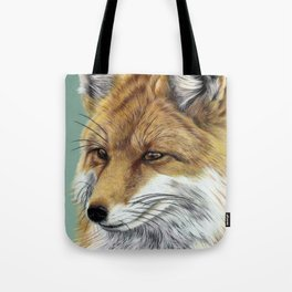 Fox Portrait 01 Tote Bag