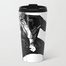 Zombie Bespoke (Without Copy) Metal Travel Mug