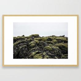 Lava Rocks Framed Art Print