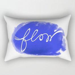 Watercolor flow Rectangular Pillow
