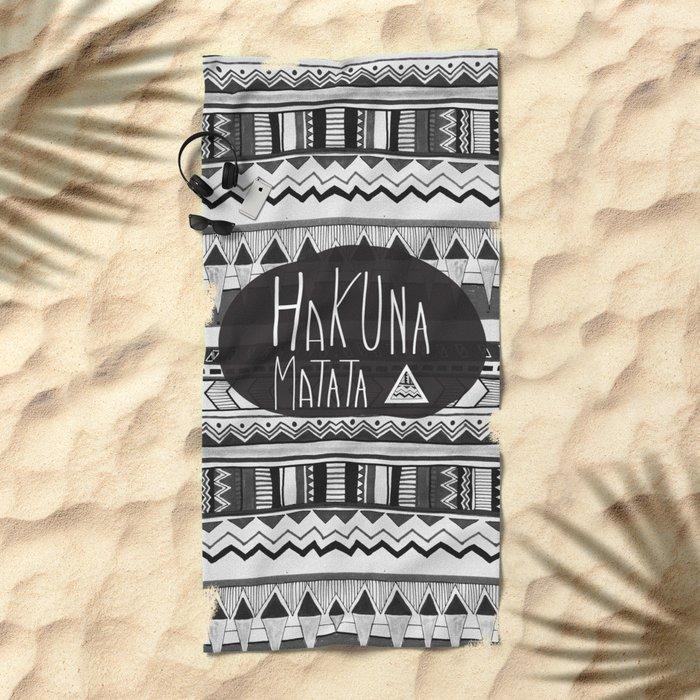 HAKUNA MATATA  Beach Towel