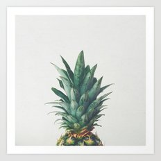 Pineapple Top Art Print