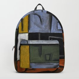 Joaquin Torres Garcia Constructive Painting VII Backpack