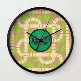 Jumanji, movie poster, Robin Williams film, Kirsten Dunst, Joe Johnston Wall Clock